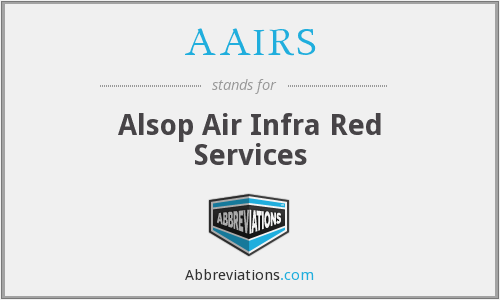 AAIRS - Alsop Air Infra Red Services
