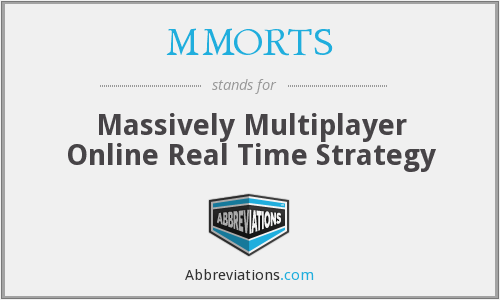 What does MMORTS stand for?