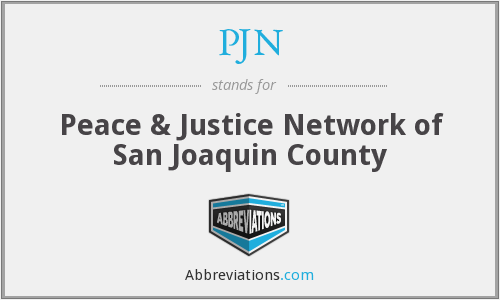 PJN - Peace & Justice Network of San Joaquin County