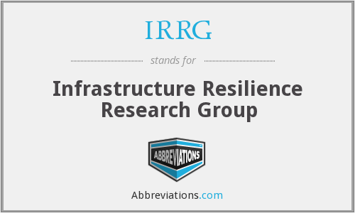 What does IRRG stand for?