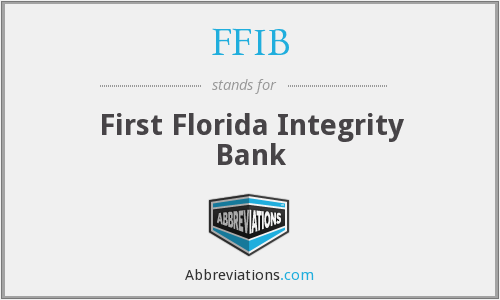 What does FFIB stand for?