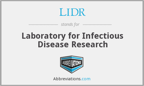 What does LIDR stand for?