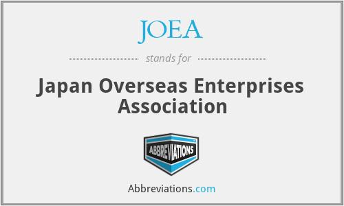 JOEA - Japan Overseas Enterprises Association