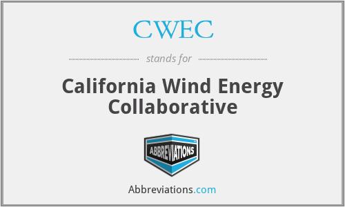 CWEC - California Wind Energy Collaborative