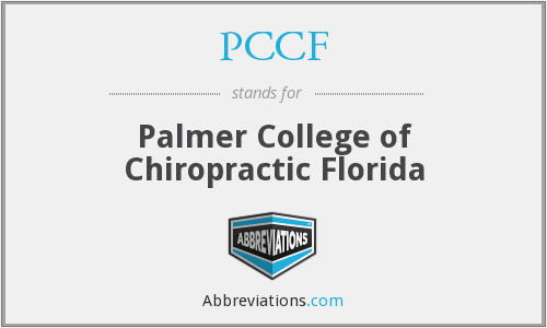 What does PCCF stand for?