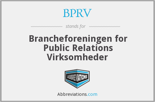 What does BPRV stand for?