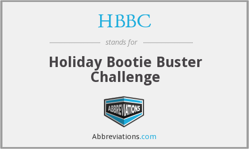 HBBC - Holiday Bootie Buster Challenge