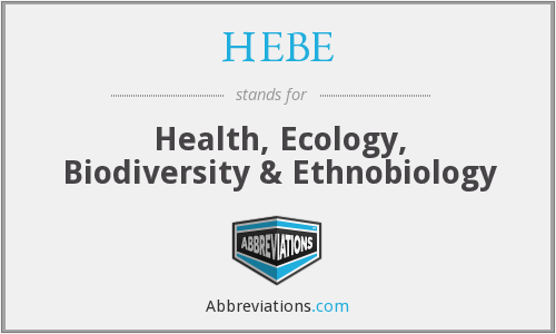 What does HEBE stand for?
