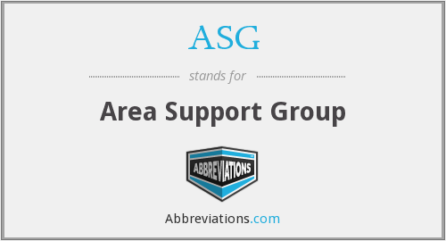 ASG - Area Support Group