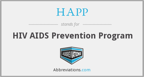 HAPP - HIV AIDS Prevention Program