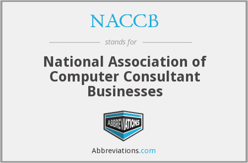 NACCB - National Association of Computer Consultant Businesses