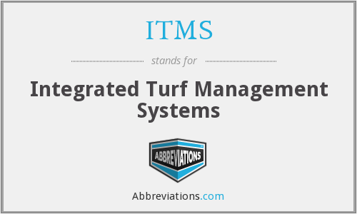 ITMS - Integrated Turf Management Systems