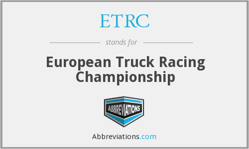 What does ETRC stand for?