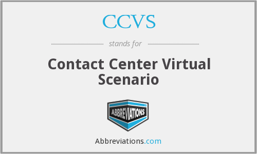 What does CCVS stand for?