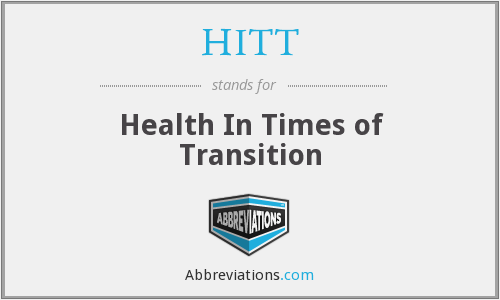 HITT - Health In Times of Transition