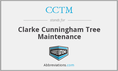 CCTM - Clarke Cunningham Tree Maintenance
