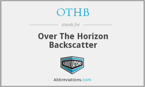 What does OTHB stand for?