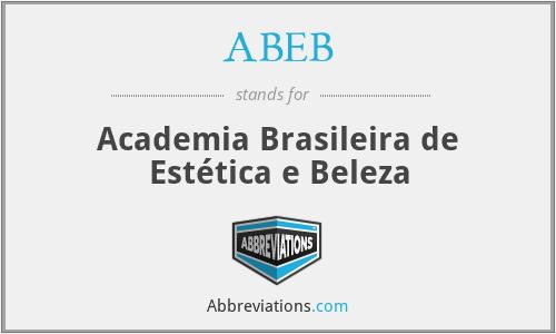 ABEB - Academia Brasileira de Estética e Beleza