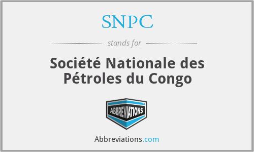 SNPC - Société Nationale des Pétroles du Congo