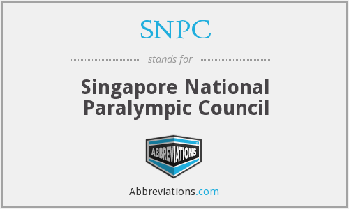 SNPC - Singapore National Paralympic Council