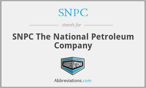 SNPC - SNPC The National Petroleum Company