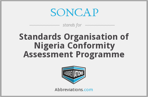 What does SONCAP stand for?