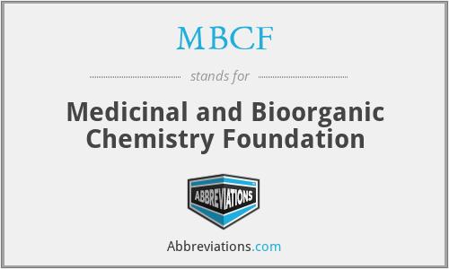 MBCF - Medicinal and Bioorganic Chemistry Foundation