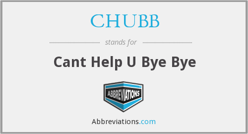 What does CHUBB stand for?