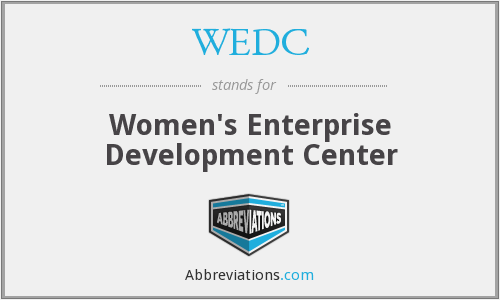 What does WEDC stand for?