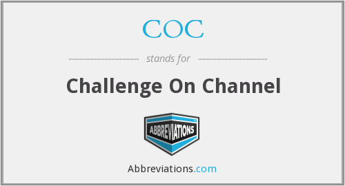 COC - Challenge On Channel