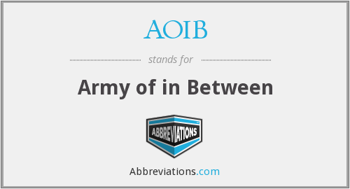 What does AOIB stand for?