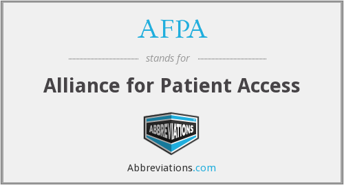 AFPA - Alliance for Patient Access