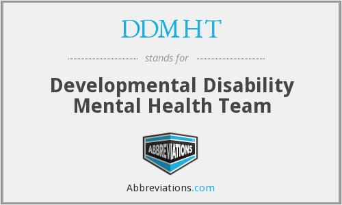 What does DDMHT stand for?