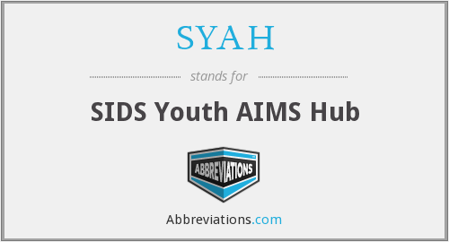What does SYAH stand for?