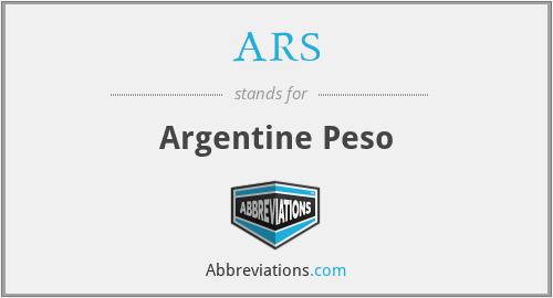 ARS - Argentine Peso