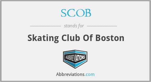 SCOB - Skating Club Of Boston