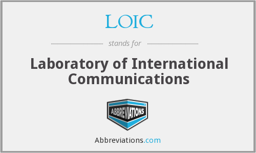 What does LOIC stand for?