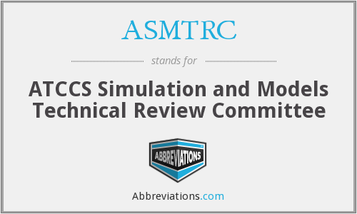 What does ASMTRC stand for?