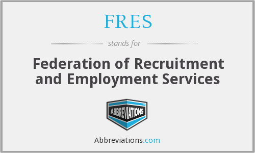 FRES - Federation of Recruitment and Employment Services