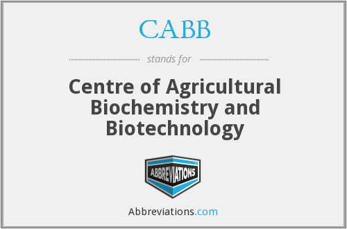 What does CABB stand for?