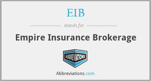 EIB - Empire Insurance Brokerage
