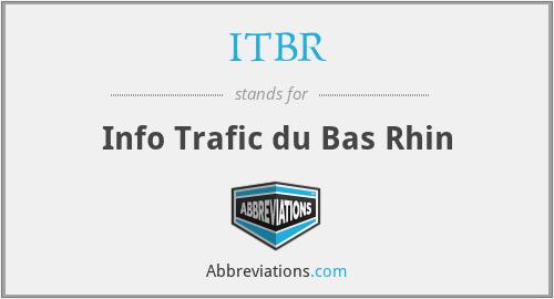 ITBR - Info Trafic du Bas Rhin