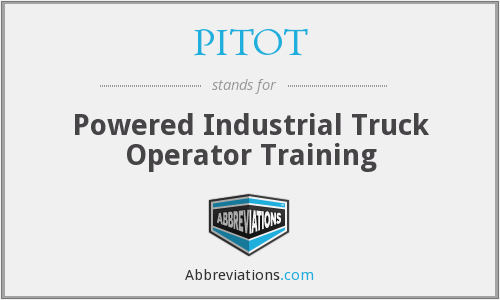 What does PITOT stand for?