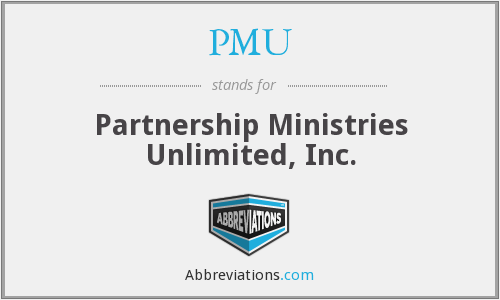 PMU - Partnership Ministries Unlimited, Inc.