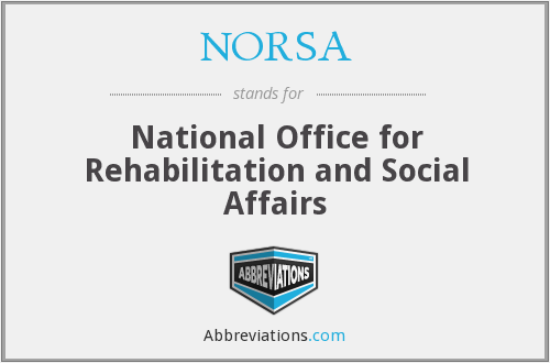 What does NORSA stand for?