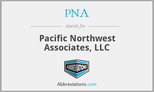 PNA - Pacific Northwest Associates, LLC