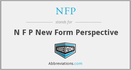 What does NFP stand for?