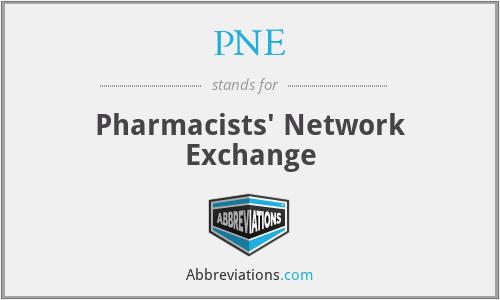 PNE - Pharmacists' Network Exchange