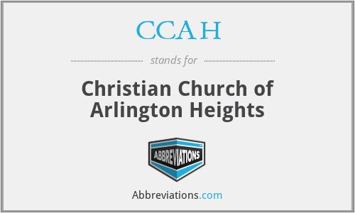 CCAH - Christian Church of Arlington Heights