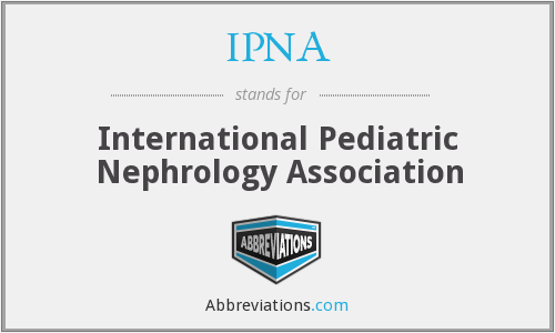 What does IPNA stand for?